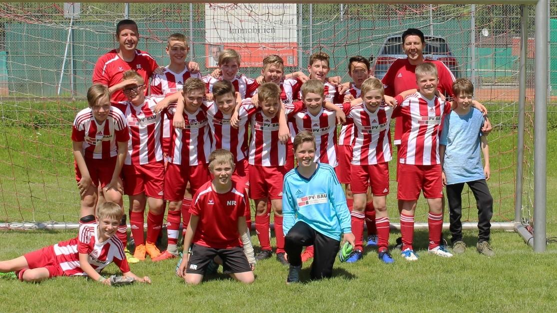 Fussball Jugend Saisonfinale
